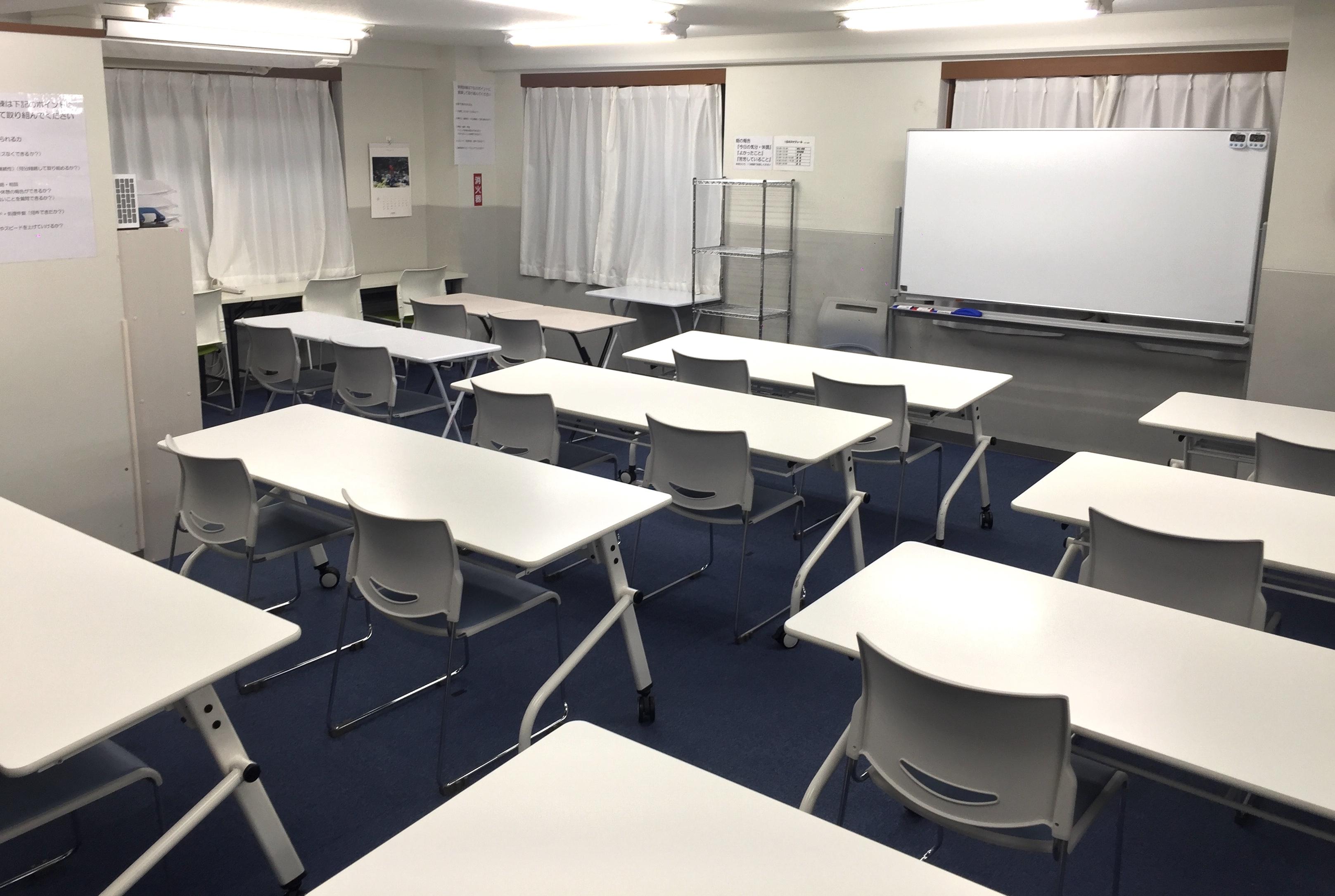 講座を行う部屋
