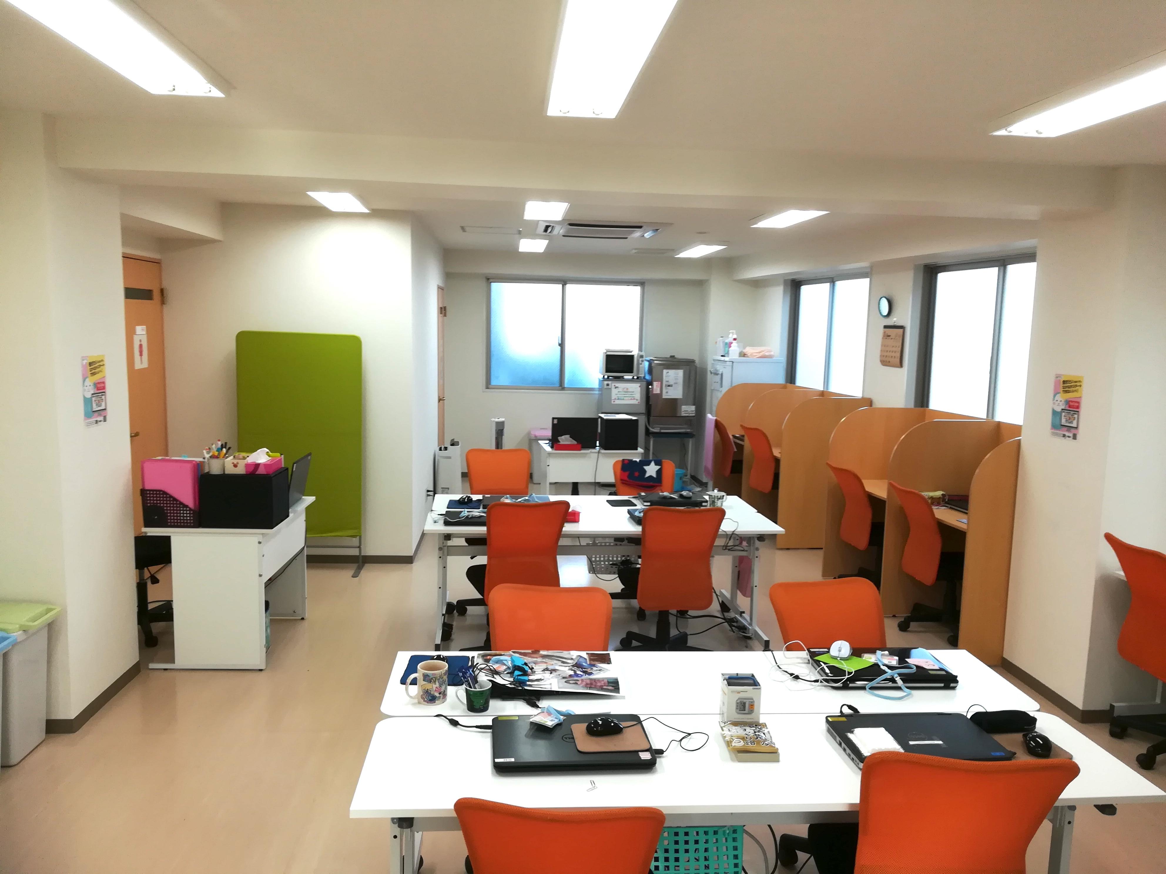 就労移行支援事業所リバーサル 本八幡の室内写真
