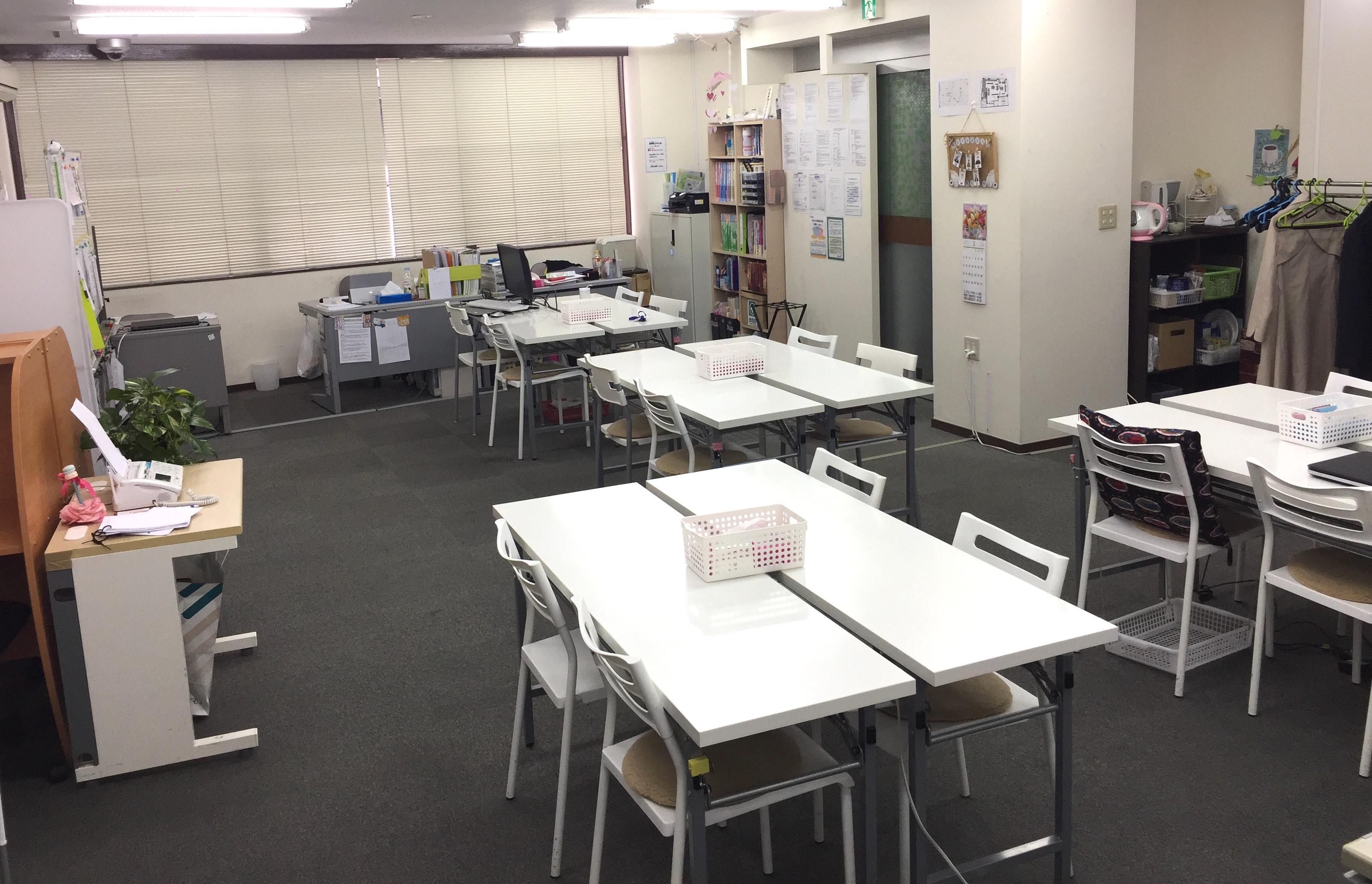 就労移行支援事業所リバーサル 浦安の室内写真