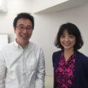 コンフィデンス早稲田の越智さんと佐藤さん