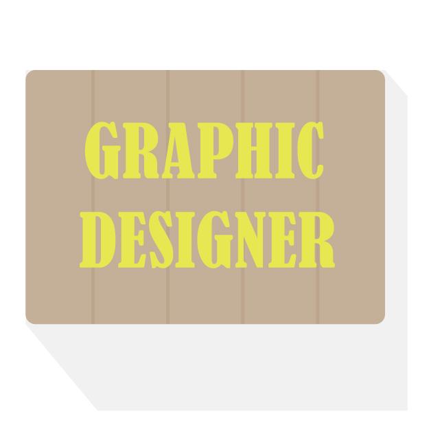 デザインセンスに長けたグラフィックデザイナー