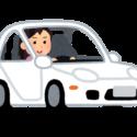 車を運転する女性障害者