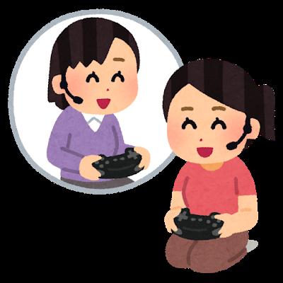 女性同士でゲームを楽しんでいる