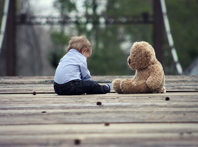 イタリアの精神障害の子供は病院に入っていない