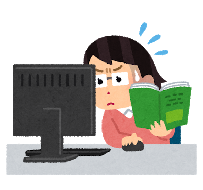 就労移行支援で、パソコン操作を懸命に学ぶ女性