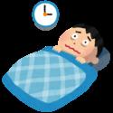 不眠症状に悩む、二次障害を持つ男性