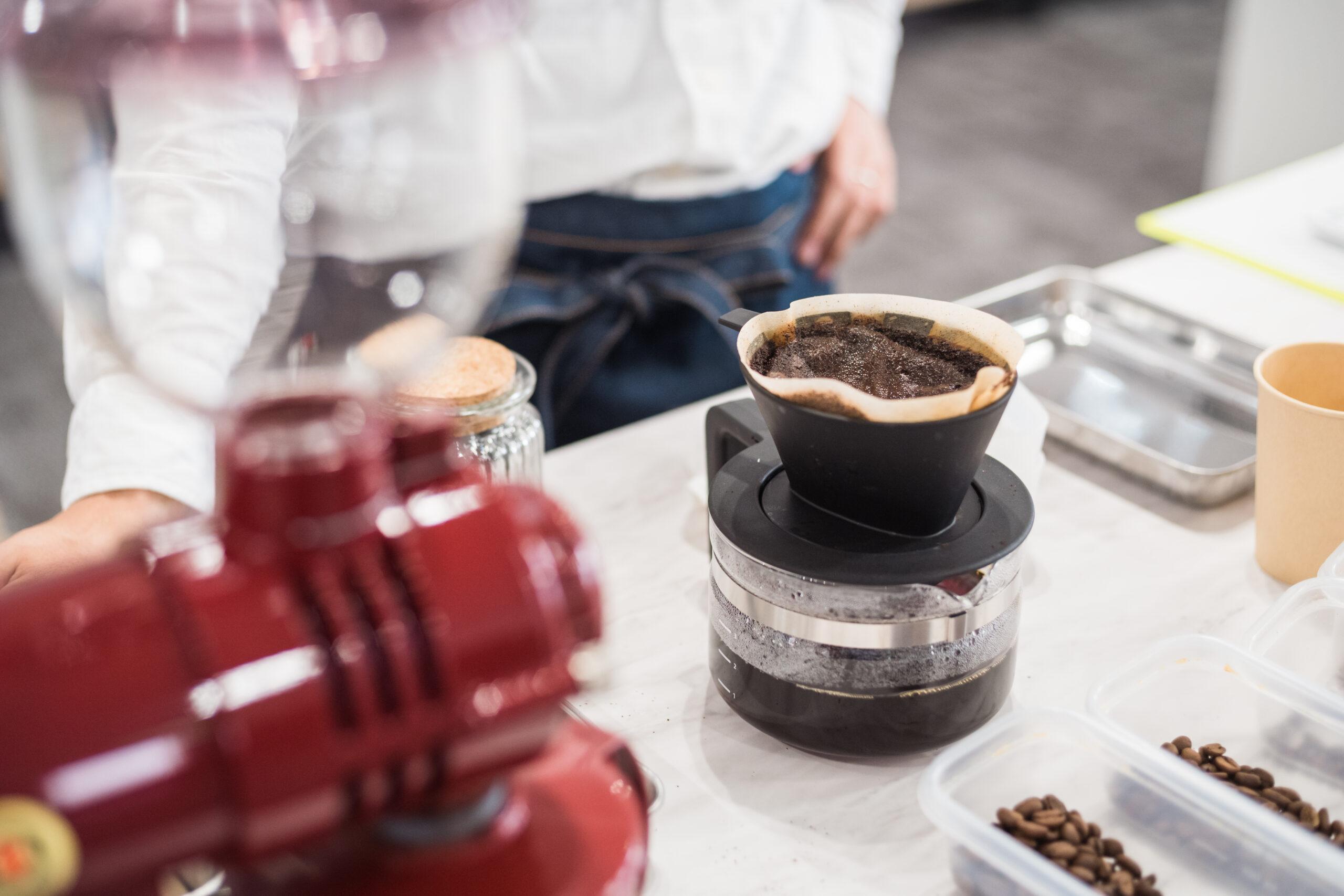 クラフトコーヒーの実践的な作業プログラム