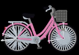 リサイクル自転車のママチャリ